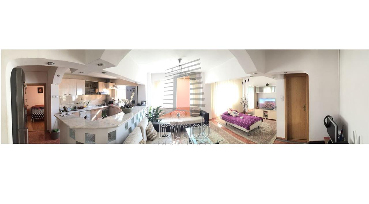 Apartament 3 camere transformat din 4, Timpuri Noi