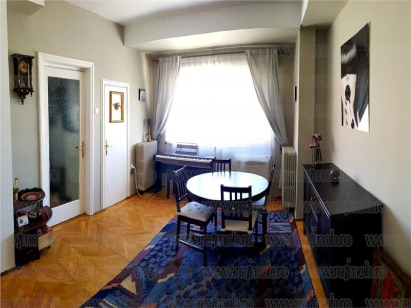 Apartament 3 camere mobilat si utilat, Piata Romana