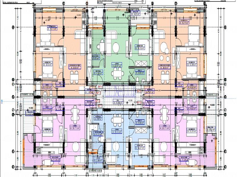 Apartament 2 Cam. Prelungirea Ghencea - Safirului, Bloc 2019