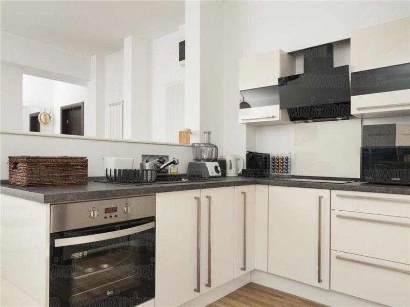 Barbu Vacarescu Hotel Caro apartament 3 camere mobilat utilat premium