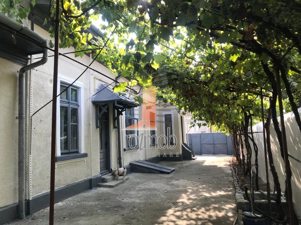 Decebal, viluta cocheta, 4 camere, curte 150 mp, birouri / cafenea.