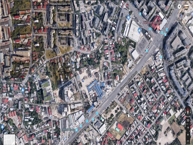 Mihai Bravu metrou, teren 272 mp cu deschidere 16 ml