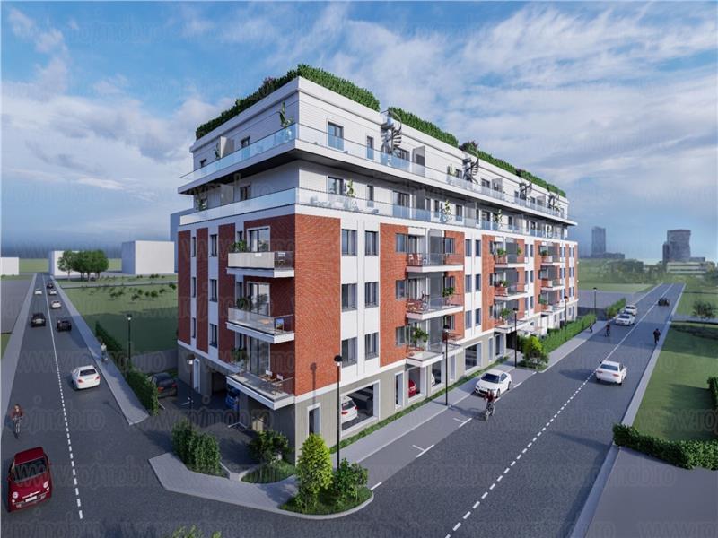 Bulevardul Pipera Porsche Nord apartament lux 3 camere imobil 2020