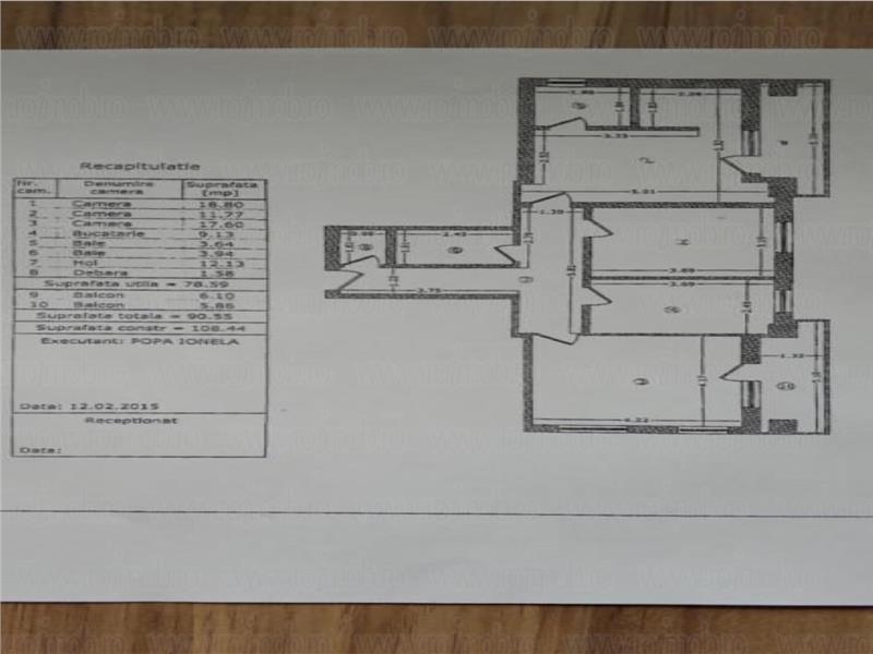 Baneasa Apicultorilor apartament 3 camere parcare subterana + boxa