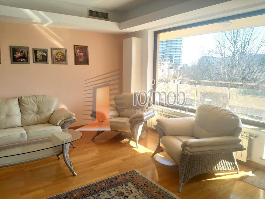 Inchiriere apartament cu 3 camere, Parc Herastrau, parcare