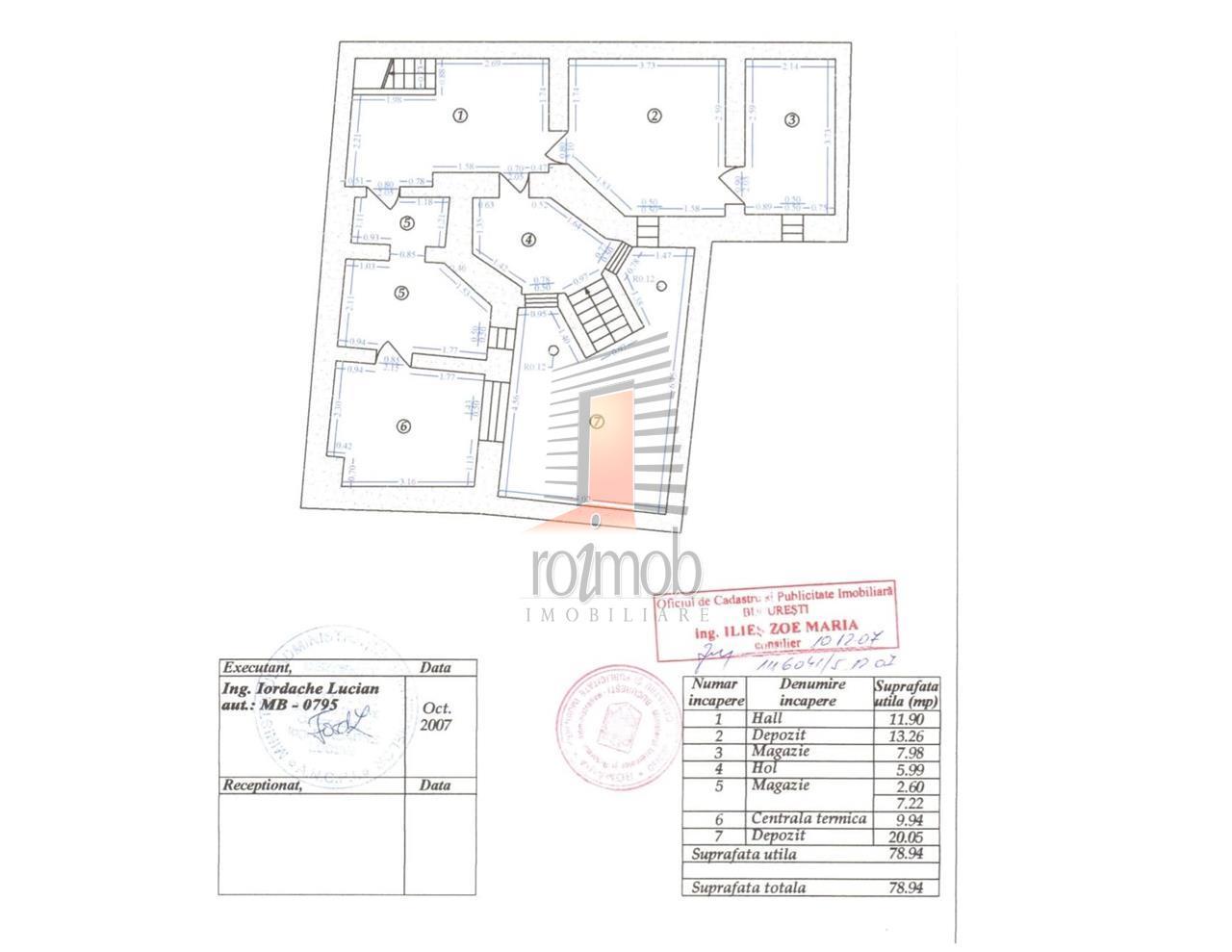 Inchiriere vila birouri, 7 camere, curte, Nicolae Titulescu
