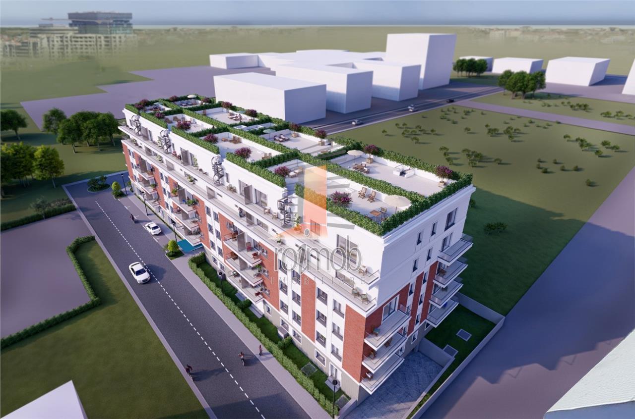 Comision 0% Pipera Porsche Nord apartament 3 camere 79 mp imobil 2021