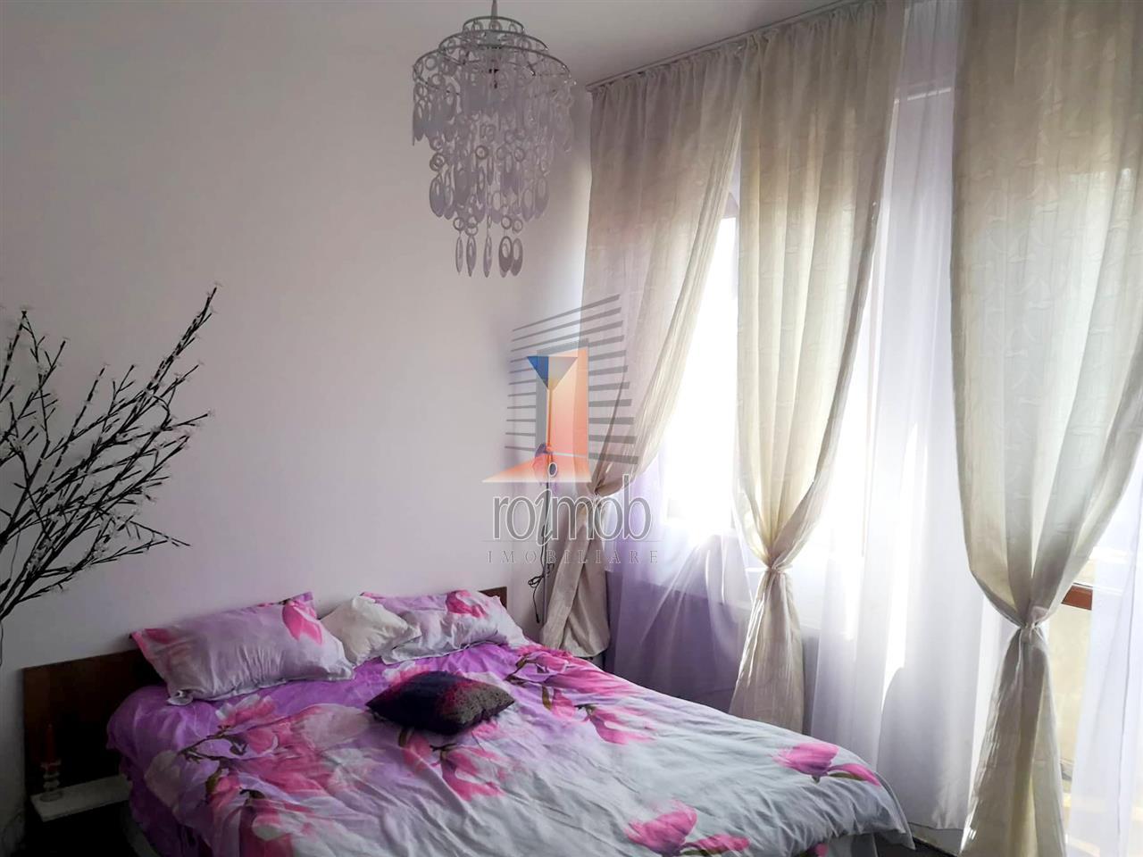 Apartament cu 3 camere, luminos, camere inalte, Emimescu