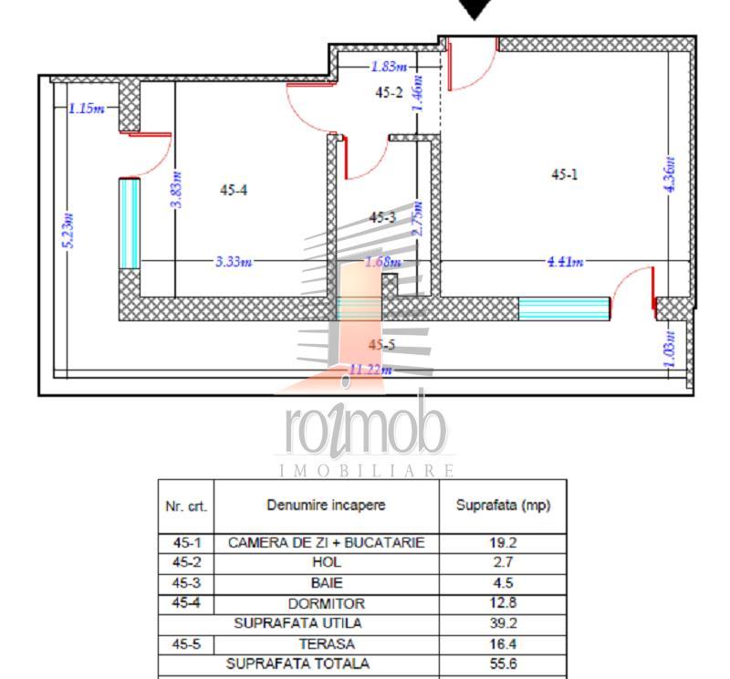 Apartament 2 Camere Theodor Pallady - Trapezului Bloc Nou 2018