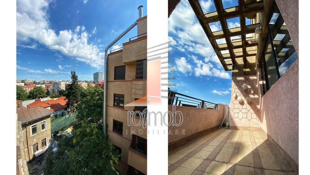 Apartament 5 camere mobilat si utilat, etajul 4/S+P+4+Pod, zona Ramana