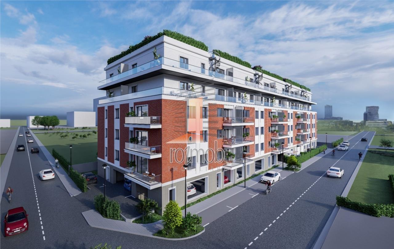 Comision 0% Pipera 1 Residence apartament 2 camere cu gradina