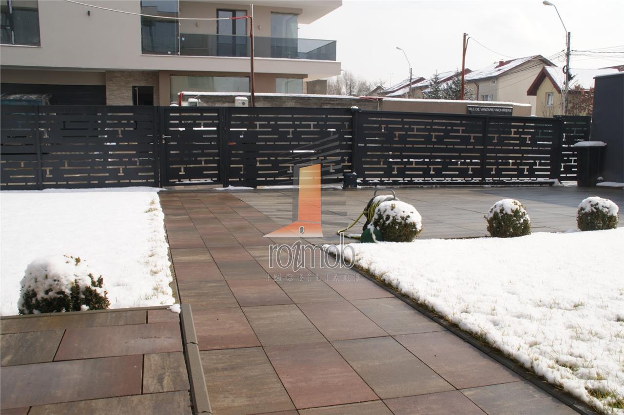 Comision 0% Pipera Gardens vile lux P+2E 5 camere complex privat