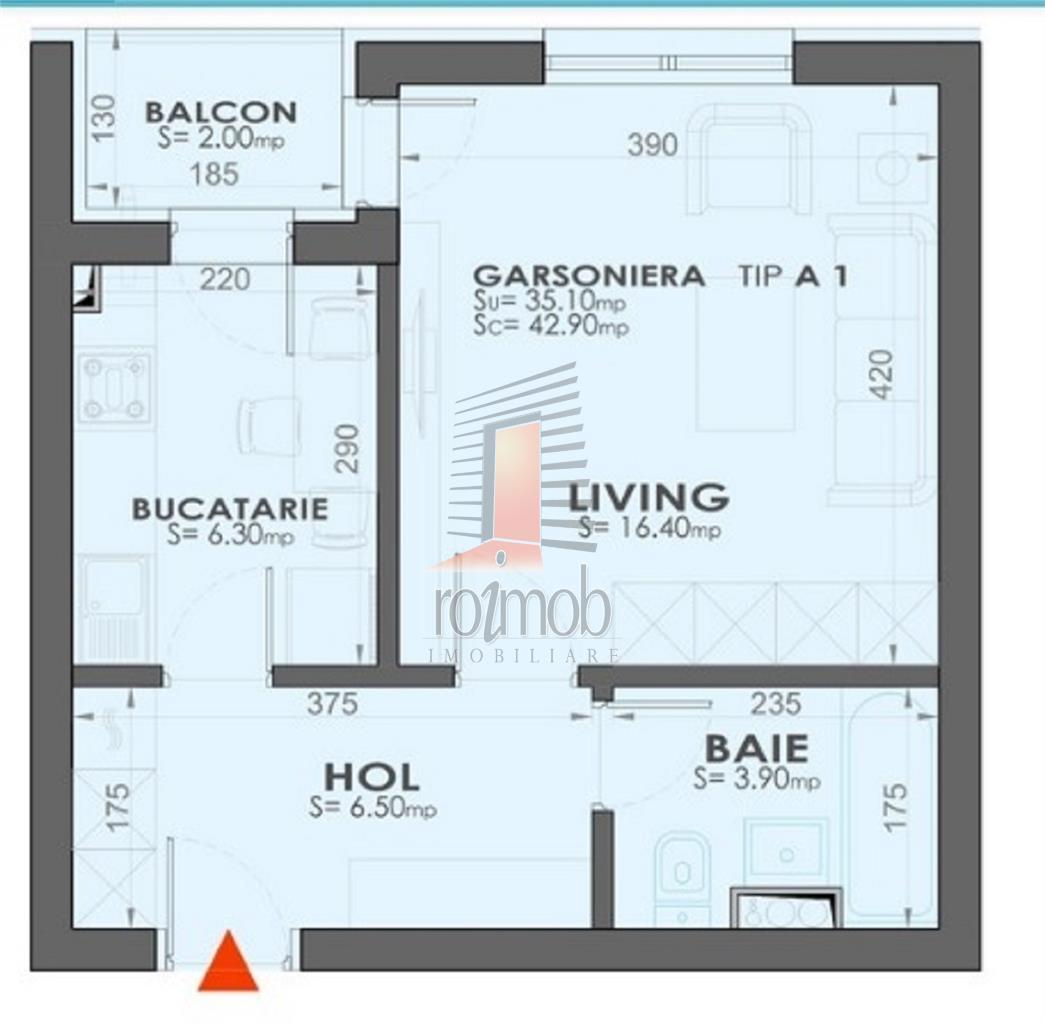 Vanzare garsoniera, Militari/Plazza Rezidence, 3/11, faza 3