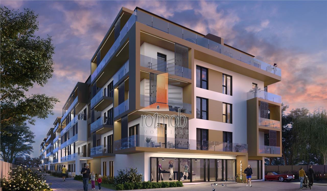 Grand Park Pipera apartament 2 camere cu gradina comision 0%