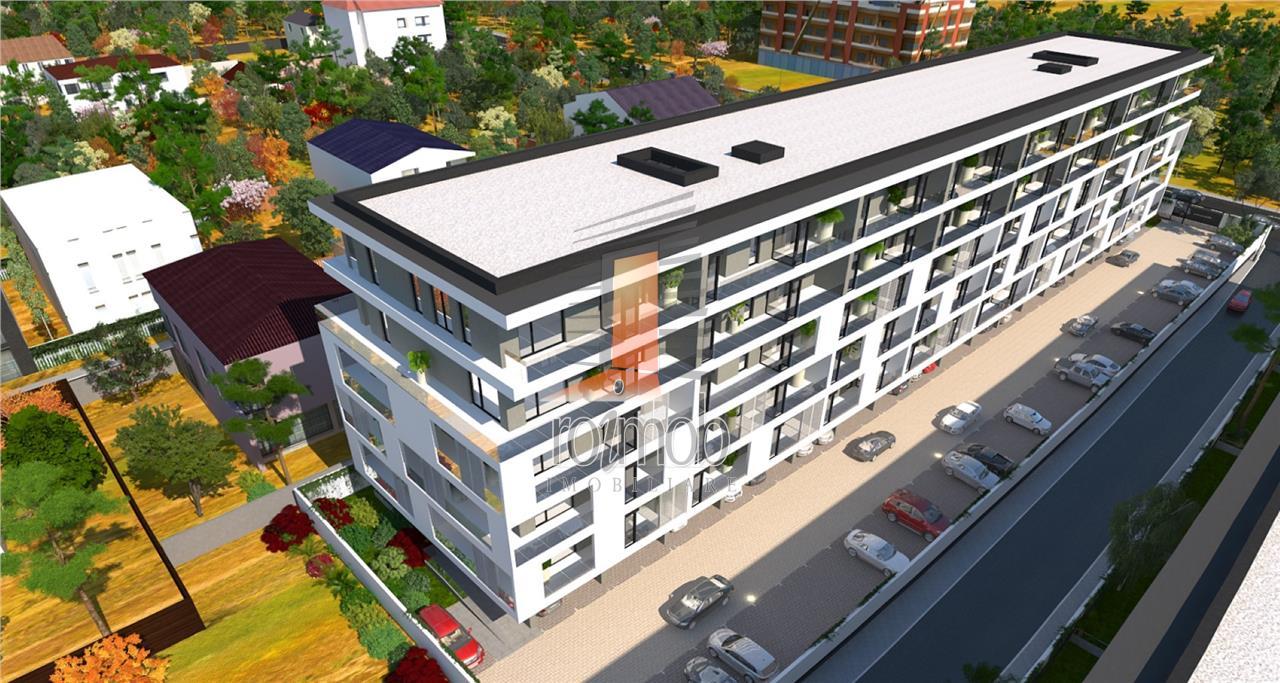 Pipera bulevard vedere padure apartament 2 camere, gradina comision 0%
