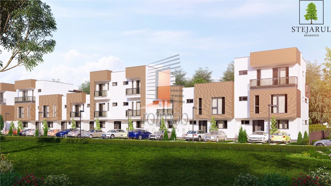 Comision 0% Complex Stejarul Residence Pipera 4 camere P+1E TVA inclus
