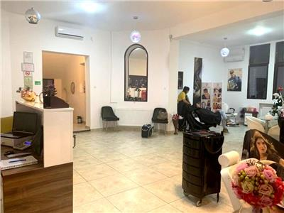 Spatiu salon/birouri, parter, 4 camere, 120 mp, Piata Romana