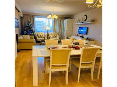 Baneasa North Lane apartament 3 camere gama lux mobilat utilat premium