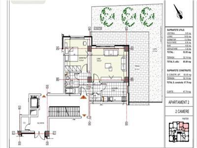 Piata Domenii apartament 2 camere curte proprie 48 mp imobil 2020