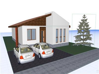 Casa Domnesti - Ilfov, Constructie 2021, Teren 409mp Suprafata 140mp