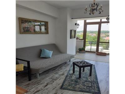 Baneasa Sisesti apartament modern 2 camere mobilat priveliste superba