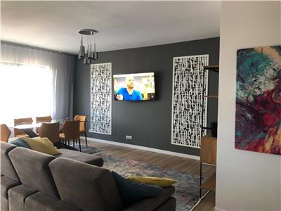 Grozavesti Exigent One apartament 3 camere mobilat utilat premium 95mp