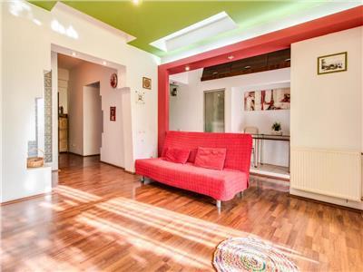 Gradina Icoanei, 2 camere lux, et. 3/6, zona verde, mobilat si utilat.