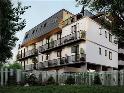 Apartament 2camere curte 75mp Imobil nou Piata Resita