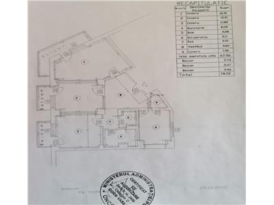 Apartament 3 camere dec ,3 balcoane Baba Novac Rond