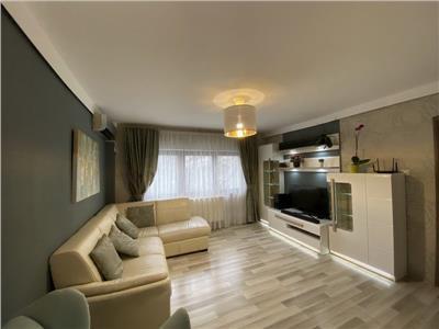 Apartament 3 camere, 2 bai, centrala, Aviatiei - metrou