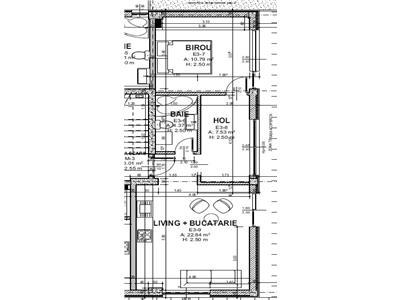 Mihai Bravu, bloc 2021, 2 camere, terasa cu vedere panoramica 60 mp