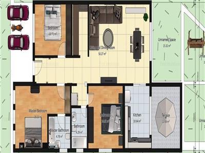 Complex Case Domnesti - Constructie 2021, Teren 409mp Suprafata 140mp