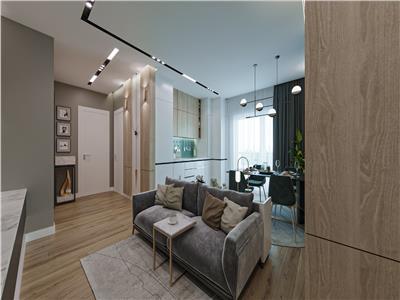 Comision 0% Doamna Ghica apartament cu gradina si 3 camere in imobil nou