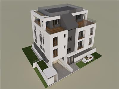 Vitan, 3 camere plus terasa 26 mp plus gradina 76 mp, bloc cu lift, comision 0%