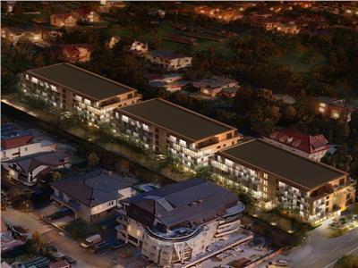 Comision 0% Grand Park Pipera apartament cu gradina 33 mp si 3 camere