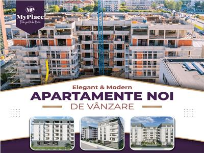 Comision 0% My Place Residence Pipera 3 camere 80,7 mp incalzire pardoseala